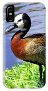 Red Breasted Wood Duck IPhone Case