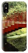 Red Bridge  IPhone Case