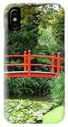Red Bridge No 2 IPhone Case