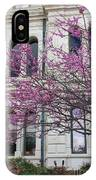 Red Buds And San Antonio City Hall IPhone Case