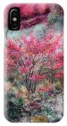 Red Bush IPhone Case