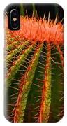 Red Cactus IPhone Case