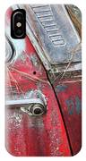 Red Car Door Handle IPhone Case