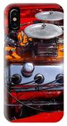 Red Car Engine  IPhone Case