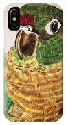 Green Cheeked Conure IPhone Case