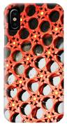 Red Chinese Window IPhone Case
