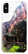 Red Cliffs Zion National Park Utah Usa IPhone Case