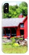 Red Cottage IPhone Case