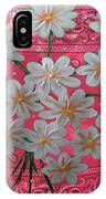 Red Daisies IPhone Case