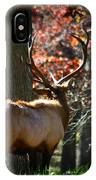 Red Elk IPhone Case
