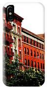 Red Facade IPhone Case