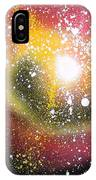 Red Galaxy IPhone Case