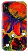 Red Garden IPhone Case