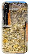 Red Gate, Stone Wall IPhone Case