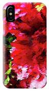 Red Gerbera Daisy Abstract IPhone Case