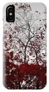 Red Glitter IPhone Case