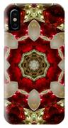 Red Gold Green Kaleidoscope 2 IPhone Case