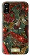 Red Gold Tree No 3 Fashions For Evergreens Event Hotel Roanoke 2009 IPhone Case
