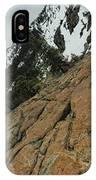 Red Granite IPhone Case