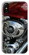 Red Harley IPhone Case