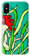 Red Head Mermaid IPhone Case