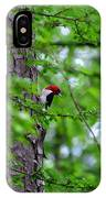 Red Headed Beauty IPhone Case