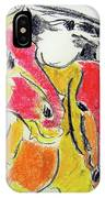 Red Horses IPhone Case