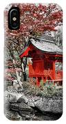 Red House IPhone Case