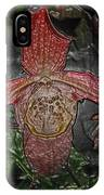 Red Lady Slipper IPhone Case