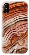 Red Laguna Lace Agate IPhone Case