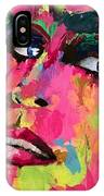 Red Light Offer, Palette Knife Painting IPhone Case