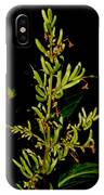 Red Lilac Seeds IPhone Case