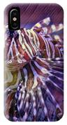 Red Lionfish Art IPhone Case