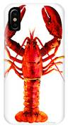 Red Lobster - Full Body Seafood Art IPhone Case