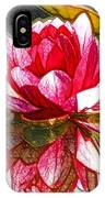 Red Lotus Flower IPhone Case