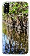 Red Mangrove Roots Reflections In The Gordon River IPhone Case