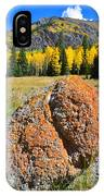 Red Mountain Boulder IPhone Case
