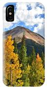 Red Mountain Fall Colors IPhone Case