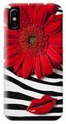 Red Mum And Red Lips IPhone Case
