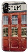 Red Museum Door IPhone Case