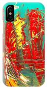 Red Nyc IPhone Case