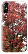 Red Oak 2 IPhone Case