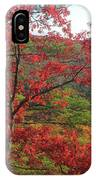 Red Oak And Millers River Valley IPhone Case