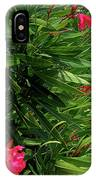 Red Oleander Arbor IPhone Case