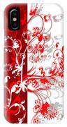 Red Ornament IPhone Case