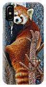Red Panda IPhone Case