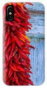 Red Peppers And Blue Door IPhone Case