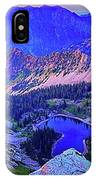 Red Pine Panorama IPhone Case