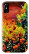 Red Poppies 451130 IPhone Case