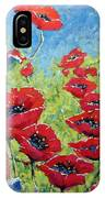 Red Poppies By Prankearts IPhone Case